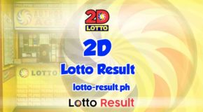 2D LOTTO RESULT Today, Tuesday, May 18, 2021