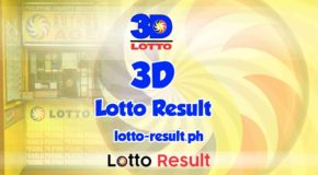3D LOTTO RESULT Today, Monday, March 8, 2021