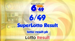 6/49 Lotto Result Today, Sunday, April 11, 2021