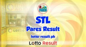 STL Pares Result Today, Tuesday, May 18, 2021