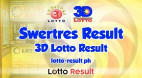 SWERTRES RESULT Today, Tuesday, March 9, 2021